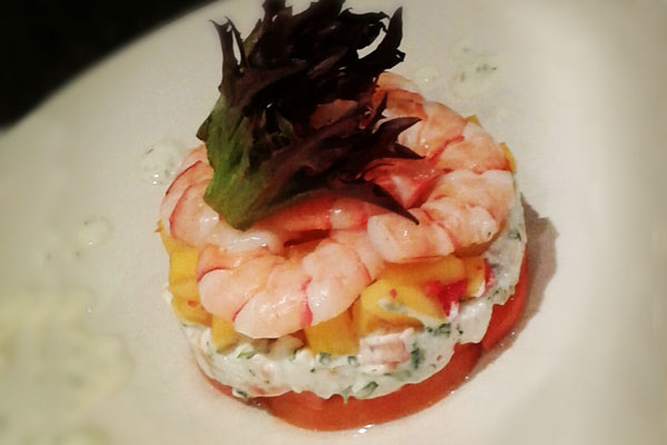 Crayfish, Mango and Chilli Salad