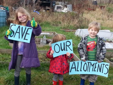 Farm Terrace Allotment Campaign Watford