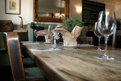 Foragers table setting