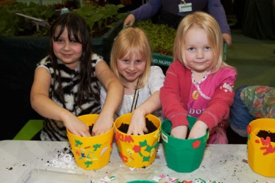 Kids Fun at the Edible Garden Show