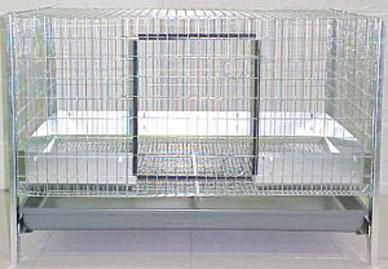 Angora rabbit cage