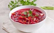 Borscht - beetroot soup