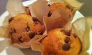 Chocolate and orange muffin