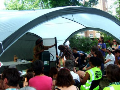 London Permaculture Festival - Water Workshop