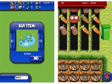 Pocket Farm mini game
