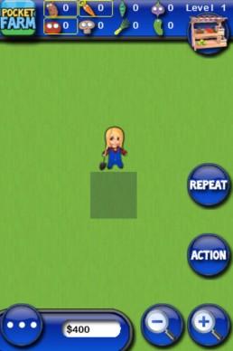 Pocket Farm Start Screen iOS