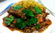 Moroccan Spiced Rabbit Stew