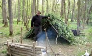 Woodland Ways shelter building