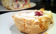 Summer Fruit Meringue Roulade