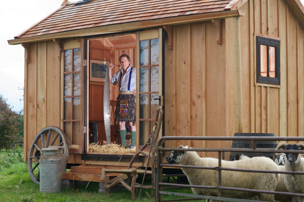 Woodworking course leads resurgence in traditional shepherd's huts ...