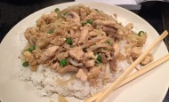 Chicken Foo Yung dish