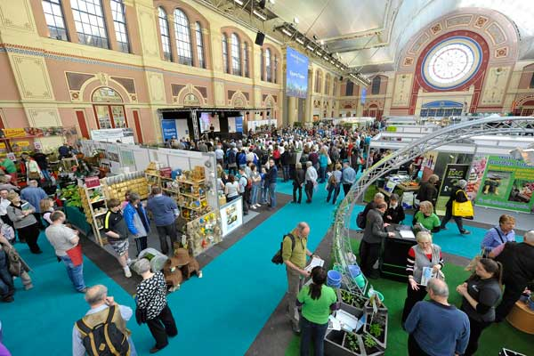 The Edible Garden Show at Alexandra Palace