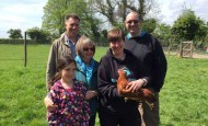 Chicken keeping course attendees