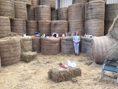 Hay barn venue